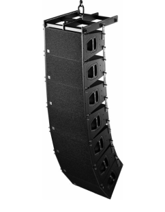 Line array sound systems for from 1000 people