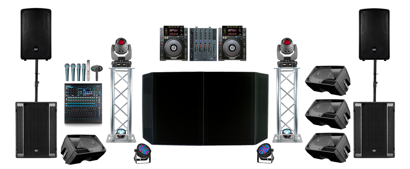 Live Sound PA System Hire in London