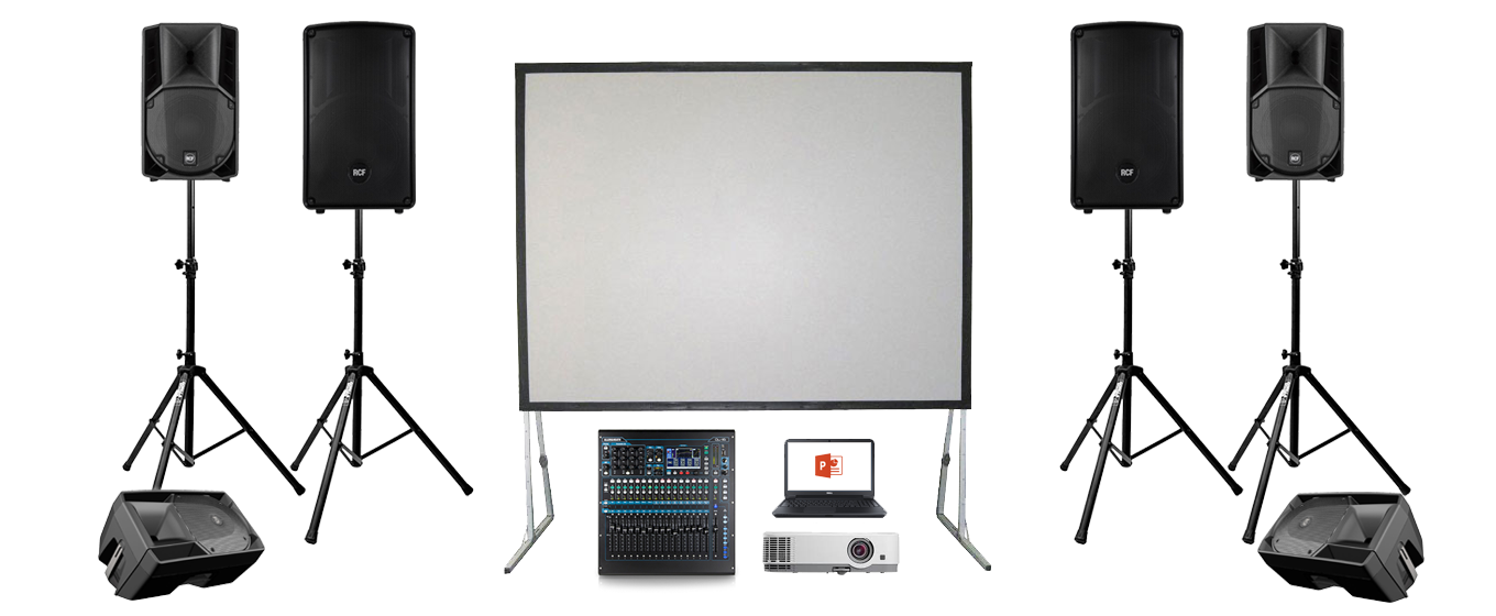 Seminar & Conference PA System Hire in London