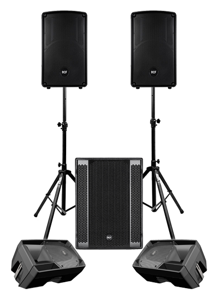 London Live Sound PA System Hire | Live Band PA Hire