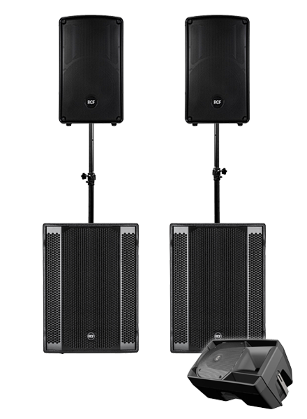 Party 260 PA System Hire in London