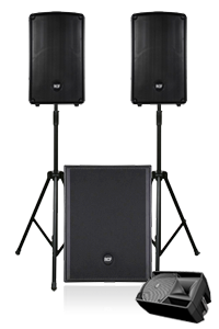 DJ Party Wedding PA System Hire in London