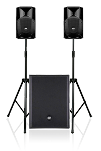 Basic Party 80 PA System Hire in London