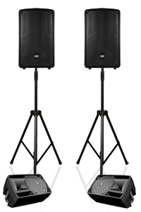 Live Vocal 120 PA System Hire in London