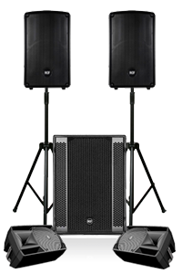 Live Band 180 PA System Hire in London