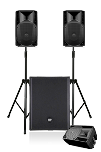 Party 120 PA System Hire in London