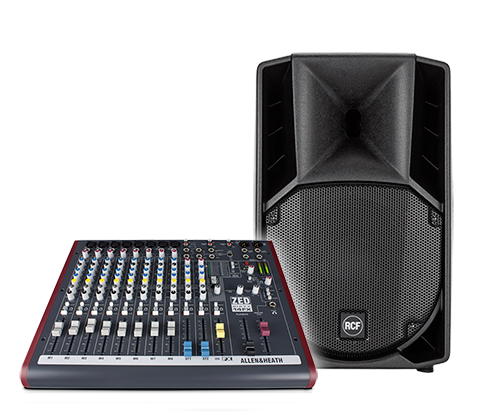 General PA System Hire in London